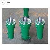 Los cilindros hidráulicos telescópicos de simple efecto varias fases de RAM largo vástago del pistón