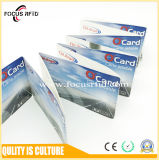 Controle de acesso MIFARE Classic 1K RFID Cartão de papel com espessura 0,6mm