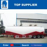 Titan 40 toneladas de cemento a granel Trailer Motor diésel con compresores de aire para la venta