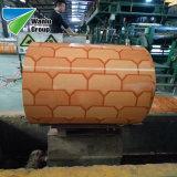 Le mattonelle di tetto d'acciaio preverniciate di colore di alluminio dello strato laminato a freddo la bobina di PPGL