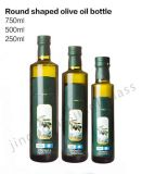 Shape rotondo Olive Oil Bottle con Cap e Bottom