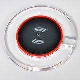 투명한 수정같은 디자인 셀룰라 전화를 위한 무선 빠른 충전기 패드