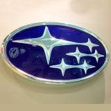Круглый вакуум формируя логос автомобиля 3D крома акриловый