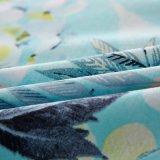 Jogo barato da folha de tampa do Duvet do fundamento da tela de matéria têxtil da HOME do algodão
