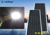 Painel Solarworld alimentada a energia solar Lâmpada de Rua LED integrado com 5 Years-Warranty