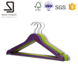 Пластичное Hanger для Supermarket, Plastic Curved Clothes Hanger