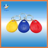 Controle de acesso de plástico impermeável 125kHz RFID Key Fob / Key Tag
