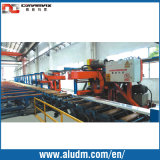 Profile en aluminium Extrusion Machine 1800t Double Puller avec Two Flying Saw