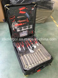 Populaires 186PC Boîte à outils en aluminium avec 10PC Clés à cliquet