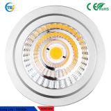 商業5W 8W鋭いチップMR16 ADC12V穂軸LEDの照明