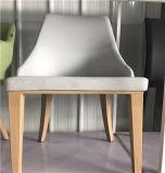 Дешевая Stackable гостиница PU кожаный обедая стул пластмассы стула