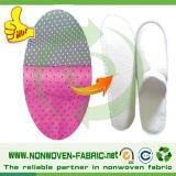 Тапочка делая выскальзованием материала Non сплетенным упорную ткань
