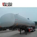 Dei 3 assi del trattore di combustibile del camion del serbatoio di combustibile autocisterna del rimorchio semi