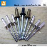 アルミニウムまたは鋼鉄盲目のリベットまたは開放端のドームヘッドアルミニウムブラインドのリベット