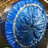 Прямой деформации резиновой ленты транспортера с большой емкости