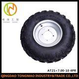 농업 트레일러 타이어 (AT21X7.00-10 4PR 관이 없는 변죽)
