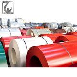 PPGI SGCC Couleur RAL 5017 d'acier galvanisé recouvert de feuille de bobine