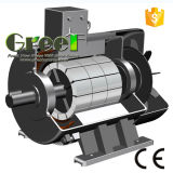 7KW 400tr/min, 3 générateur de phase magnétique AC générateur magnétique permanent, le vent de l'eau à utiliser avec un régime faible