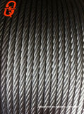 강철 케이블에 의하여 직류 전기를 통하는 철강선 밧줄 철사 밧줄 견인 밧줄