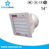 Bonne ventilation Gfrp d'équilibre de flux d'air élevé ventilateur d'extraction de 14 pouces