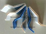 Panneau creux de toit de PVC de feuille en plastique de toiture teinté par feuille ondulée de toiture