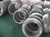 Asamblea de manguito de Teflon de PTFE con el acero inoxidable 304 y 316 tejido