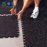 Certifié haute densité de verrouillage de remise en forme Salle de Gym de tuiles de plancher