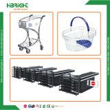 식료품점 상점 적당한 장비 슈퍼마켓 전시 선반