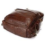 заводская цена многофункциональный Vintage Cowhide кожаная сумка рюкзак для мужчин
