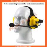 Motorolaのラジオのためのヘッドセットを取り消す産業騒音