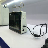 Moniteur patient qualifié élevé portatif d'équipement médical de multiparamètre