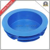 Gelbe Plastikkohlenstoffstahl-Rohrende-Stecker und Schoner (YZF-C46)