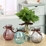 Vaso di vetro libero