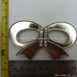 Form-Entwurfs-Decklackbowknot-Form-Dame Metal Rhinestone für Kleid-Faltenbildung