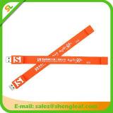 Commande adaptée aux besoins du client par caoutchouc chaud d'instantané d'USB de logo de la vente 3D (SLF-RU009)