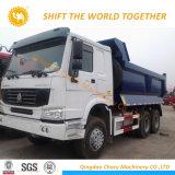 Sinotruk HOWO 6X4 덤프 트럭 팁 주는 사람 트럭