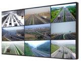 Innen-LCD-kommerzielle videowand mit schmaler Anzeigetafel