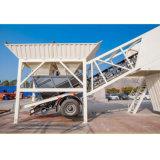 Portable Ready Mix Yhzs25 Mobile maquinaria planta mezcladora de concreto