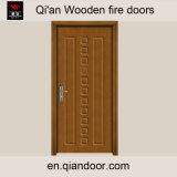 Usine de porte coupe-feu de bois de construction de placage de teck