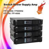 Усилитель силы каналов 10000W Fp10000q цифров 4 профессиональный