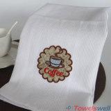 Toalla de té bordada algodón de la galleta