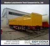 40FT 3 Axle груза общего назначения контейнера стенки трейлер тележки Semi