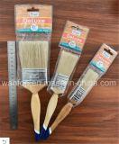 Люкс щетка краски с деревянной ручкой для французского рынка