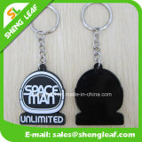 Zoll 3D PVC Rubber Key Chain für Promotion (SLF-KC013)