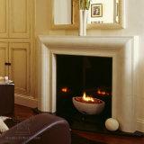 Grande lareira de mármore com multa Hand-Carved Qualidade e design simples T-7209