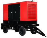 500kw移動式防音のディーゼル発電機