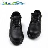 Zapatos de seguridad antis del resbalón de la punta de acero resistente del petróleo