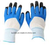 Нитриловые перчатки с покрытием с двойным покрытием на пальцы