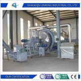 Fábrica de ambiente de resíduos para reciclagem de pneus 10toneladas de petróleo bruto