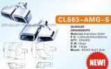벤츠를 위한 Amg Cl63-S Hight 양 스테인리스 배출 팁
